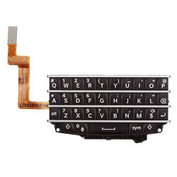 Keypad with Flex Cable for BlackBerry Q10 Black