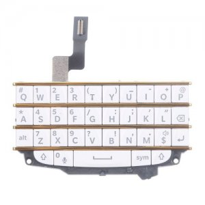 eypad with Flex Cable for BlackBerry Q10 Gold