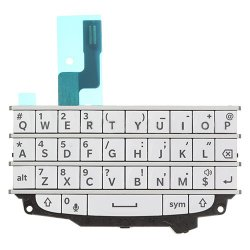 Keypad with Flex Cable for BlackBerry Q10 White