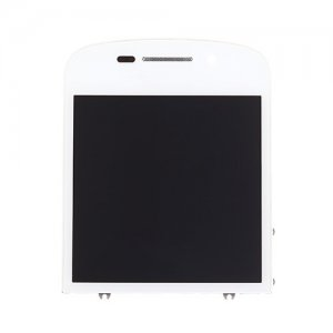 LCD Display and Digitizer Touch Screen with Frame for BlackBerry Q10 White