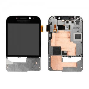 LCD and Digitizer Touch Screen With Frame for BlackBerry Classic Q20 Black
