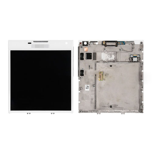 Screen Replacement With Frame for Blackberry Passp...