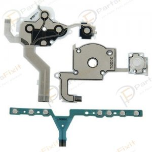 Home Volume Start Key Flex + Left Keypad Flex + Right Keypad Flex for PSP 3000