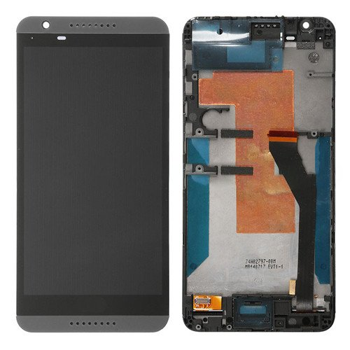 LCD Screen with Frame for HTC Desire 820 Black