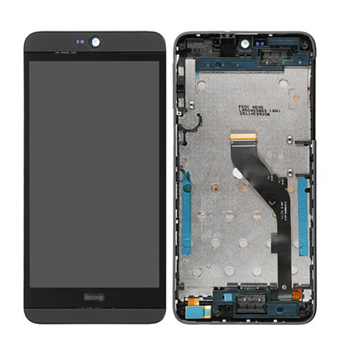 LCD Screen with Frame for HTC Desire 826 Black