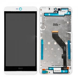 LCD Screen with Frame for HTC Desire 826 White
