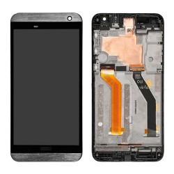 LCD with Digitizer Touch Screen With Frame for HTC One E9 Grey Original