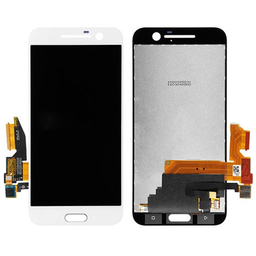 LCD with Digitizer Assembly for HTC M10 White Orig...