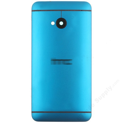 Battery Cover for HTC One M7 Blue
