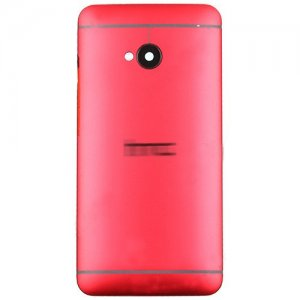 Battery Cover for HTC One M7 Red