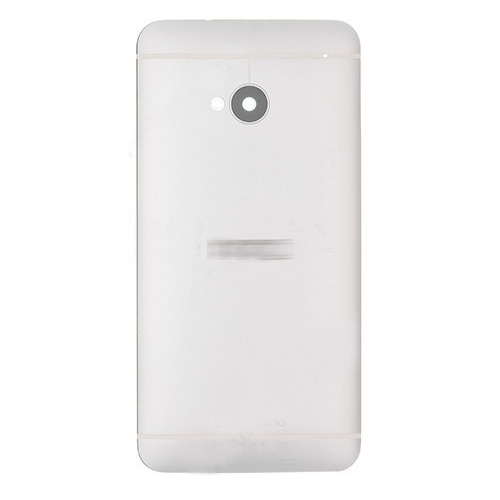 Battery Cover for HTC One M7 Silver
