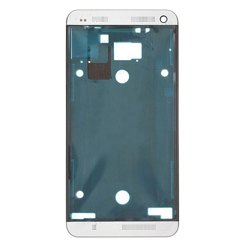 White LCD Frame Housing for HTC One M7