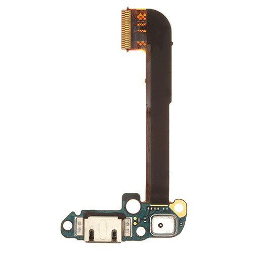 For HTC One M7 Charging Port Flex Cable with Microphone
