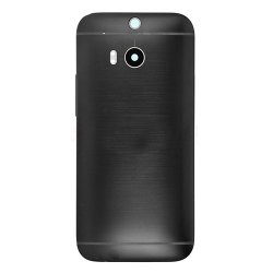 Battery Cover for HTC One M8 Black