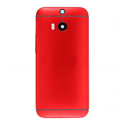 Battery Cover for HTC One M8 Red