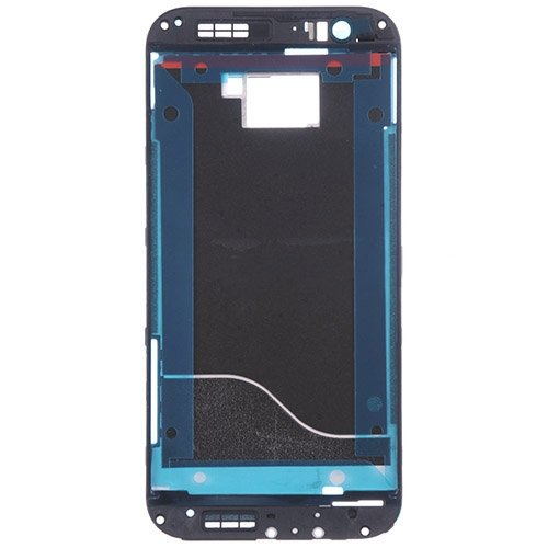 For HTC One M8 Front Housing -Black