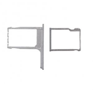 SD Card and Sim Card Tray for HTC One M8 Grey