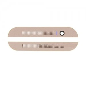Top and Bottom Cover for HTC One M8 Gold