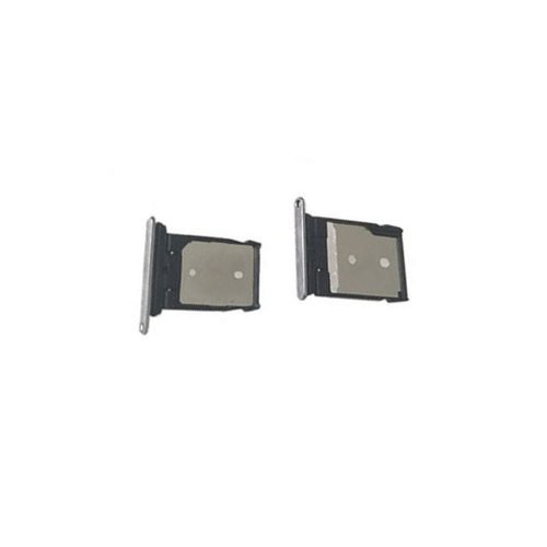 SD Card and Sim Card Tray for HTC A9 Silver