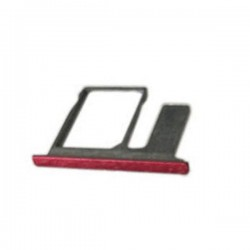 Single SIM Card Tray for HTC One E8   Red