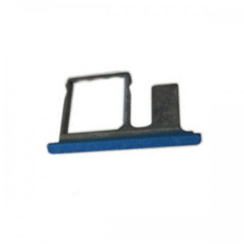 Single SIM Card Tray for HTC One E8  Blue