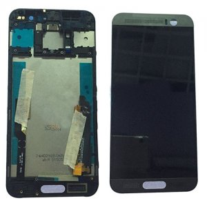 LCD and Digitizer Touch Screen With Frame for HTC M9 Plus Gray