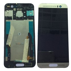 LCD and Digitizer Touch Screen With Frame for HTC M9 Plus Silver