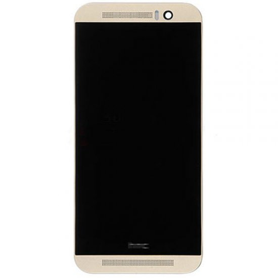 LCD Screen with Frame for HTC One M9 Gold Aftermarket
