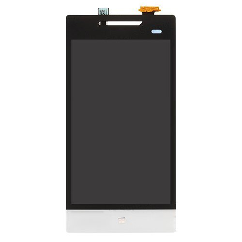 LCD and Touch Screen Digitizer Assembly Replacement for HTC 8S A620 White