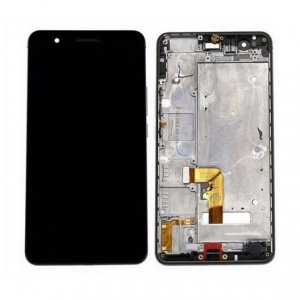 LCD with Frame Assembly  for Huawei Honor 6 Plus Black