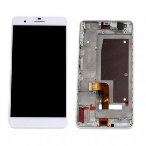 LCD with Frame Assembly  for Huawei Honor 6 Plus White