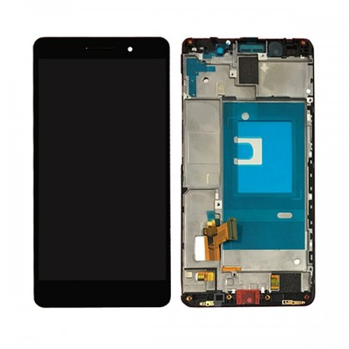 LCD with Frame Assembly for Huawei Honor 7 Black