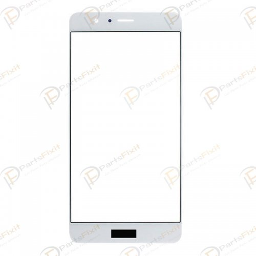 For Huawei Honor V8 Front Glass Len White