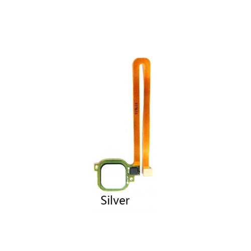 Fingerprint Sensor Flex Cable for Huawei Ascend G9 Plus Maimang 5 Silver