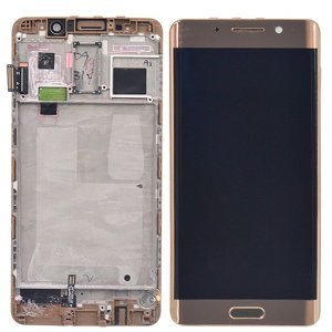 LCD Screen With Frame for Huawei Ascend Mate 9 Pro Gold