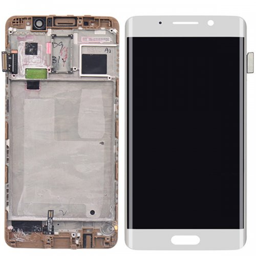 LCD Screen With Frame for Huawei Ascend Mate 9 Pro White
