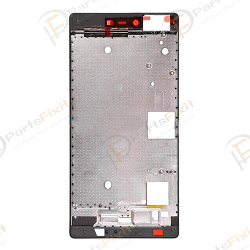 Front Frame for Huawei Ascend P8 Black