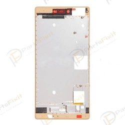 Front Frame for Huawei Ascend P8 Gold