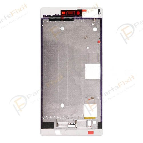 Front Frame for Huawei Ascend P8 White