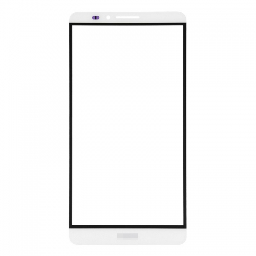 For Huawei Ascend Mate 7 Front Glass Len White