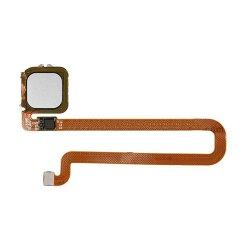 For Huawei Ascend Mate 8 Fingerprint Sensor Flex Cable Silver