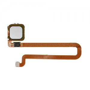 For Huawei Ascend Mate 8 Fingerprint Sensor Flex Cable Silver