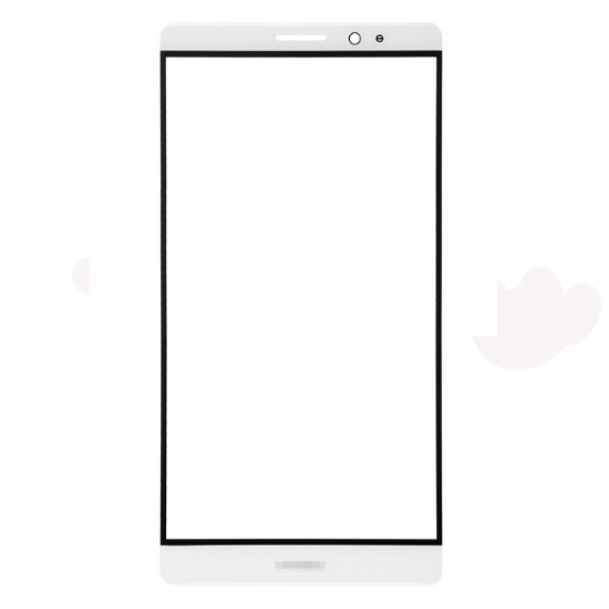 For Huawei Ascend Mate 8 Front Glass Lens White