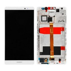 LCD with Frame for Huawei Ascend Mate 8 White