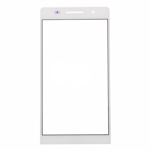 For Huawei Ascend P6 Glass Lens White