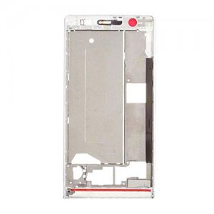 Front Frame for Huawei Ascend P6 White