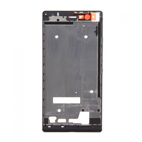 Front Frame for Huawei Ascend P7 Black