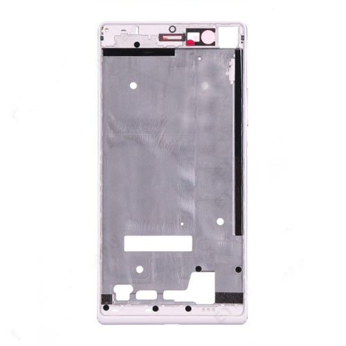 Front Frame for Huawei Ascend P7 White