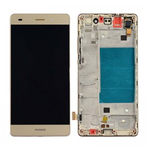 LCD with Frame for Huawei Ascend P8 Lite Gold