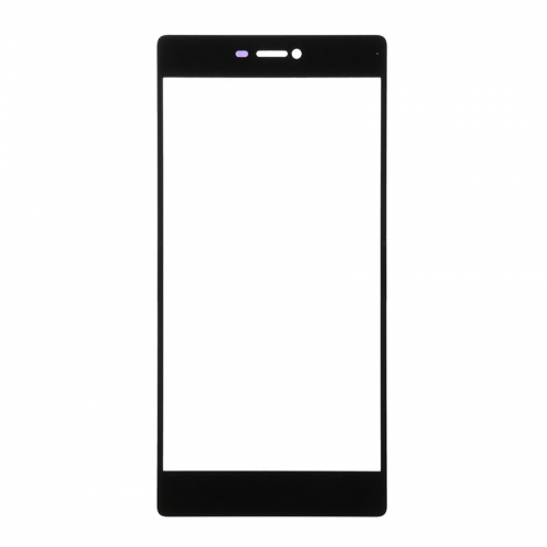 For Huawei Ascend P8 Front Glass Lens Black